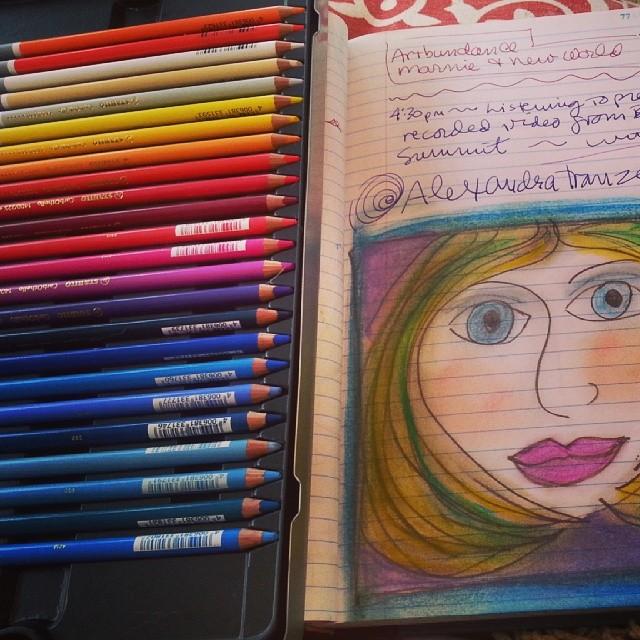 PencilDrawingColored
