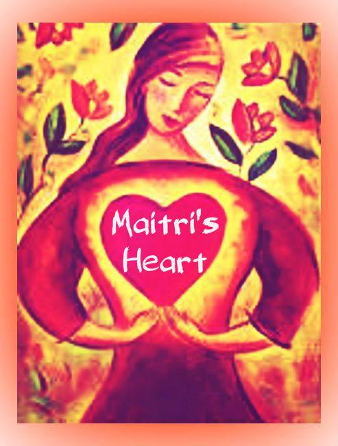 Maitri's Heart Logo blog